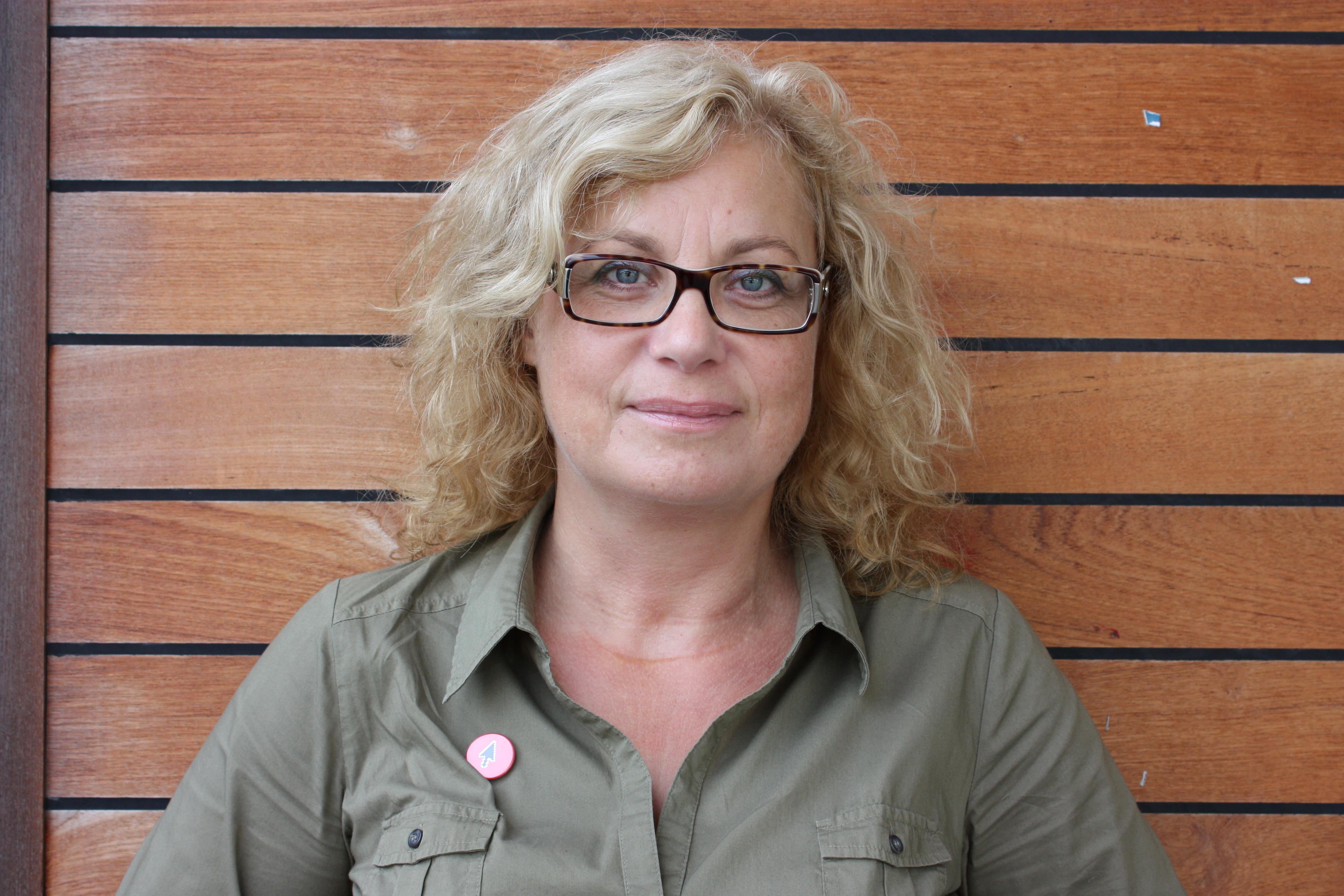 Elza Dunkels lektor tillämpad utbildningsvetenskap. Foto: Anette Olofsson.